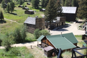 Overview of Garnet Ghost Town